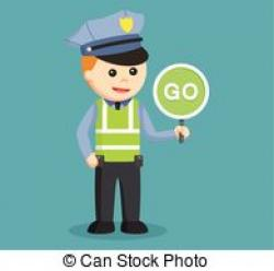 Police clipart trafic