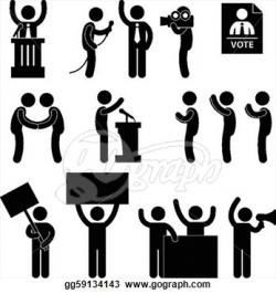 Politics clipart black and white