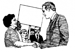 Political clipart black and white