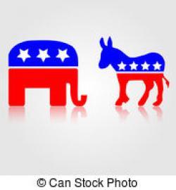 Political clipart democratic