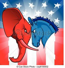 Politics clipart american government