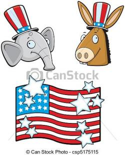Political clipart vector