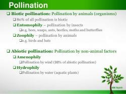 Pollination clipart biotic