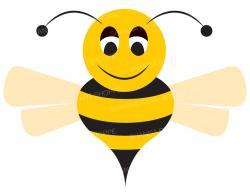 Bumblebee clipart honey bee