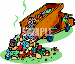 Trash clipart soil pollution