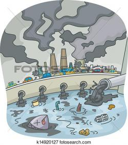 Pollution clipart industrial waste