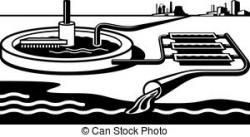 Pipe clipart water treatment plant