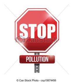 Pollution clipart stop