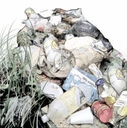 Litter clipart waste