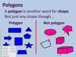 Polygon clipart college algebra