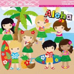 Ukulele clipart hawaiian boy