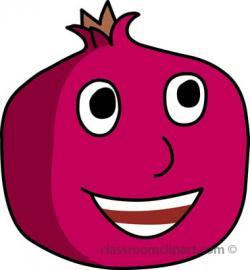 Pomegranate clipart cute