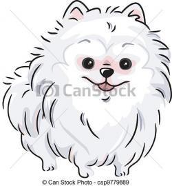 Pomeranian clipart animated