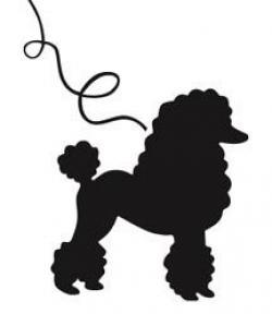 Shadows clipart poodle
