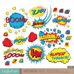 Comics clipart pop art
