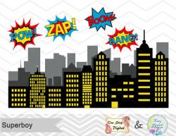 Pop Art clipart city