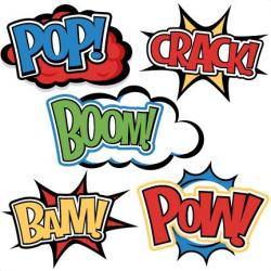 Super Girl clipart word