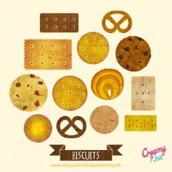 Biscuit clipart juice