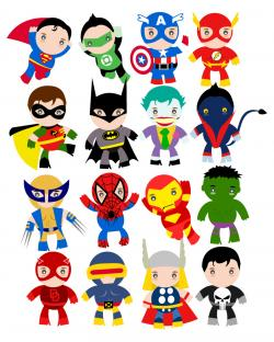 Saying clipart marvel