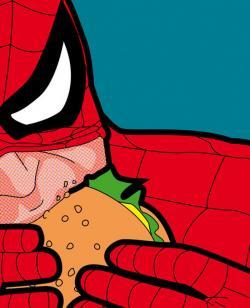 Pop Art clipart marvel hero