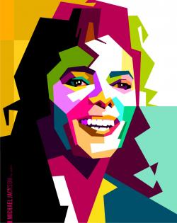 Pop Art clipart michael jackson