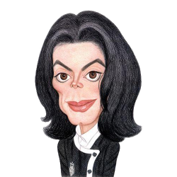 Capped clipart michael jackson