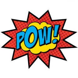 Comics clipart superhero