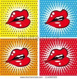 Pop Art clipart sweet