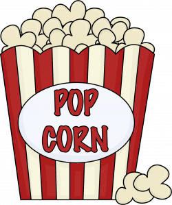 Snack clipart popcorn bucket