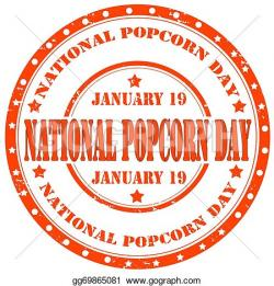 Popcorn clipart january