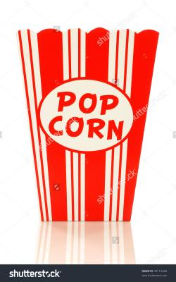Popcorn clipart packet