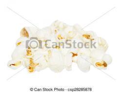 Popcorn clipart pile