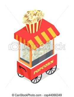Popcorn clipart trolley