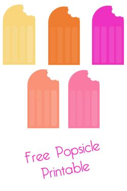 Popsicle clipart garland
