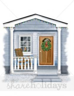 Hosue clipart porch
