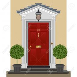 Porch clipart front door