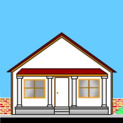 Porch clipart house