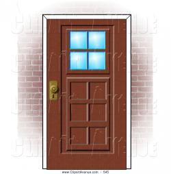 Doorstep clipart house door