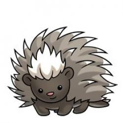 Porcupine clipart animated