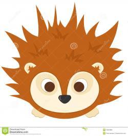 Porcupine clipart head