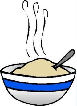 Porridge clipart