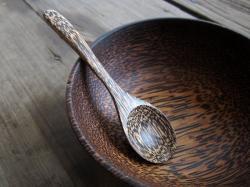 Porridge clipart wooden ladle