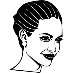 Celebrity clipart positive
