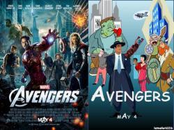 Comics clipart avenger