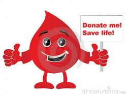 Poster clipart blood donation