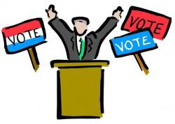 Presidents clipart election campaign