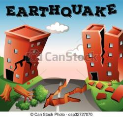 Disaster clipart earthquake