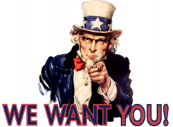 Uncle Sam clipart i want you