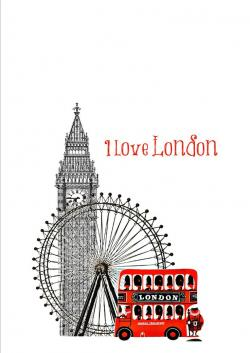 Poster clipart london