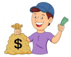 Poster clipart money reward